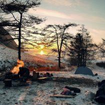 acampada vivac
